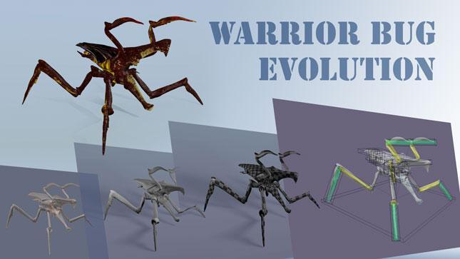 Making of - Warrior Bug - zum Artikel